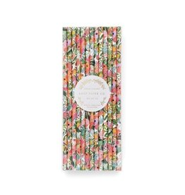 Garden Party Paper Straws - 25 count