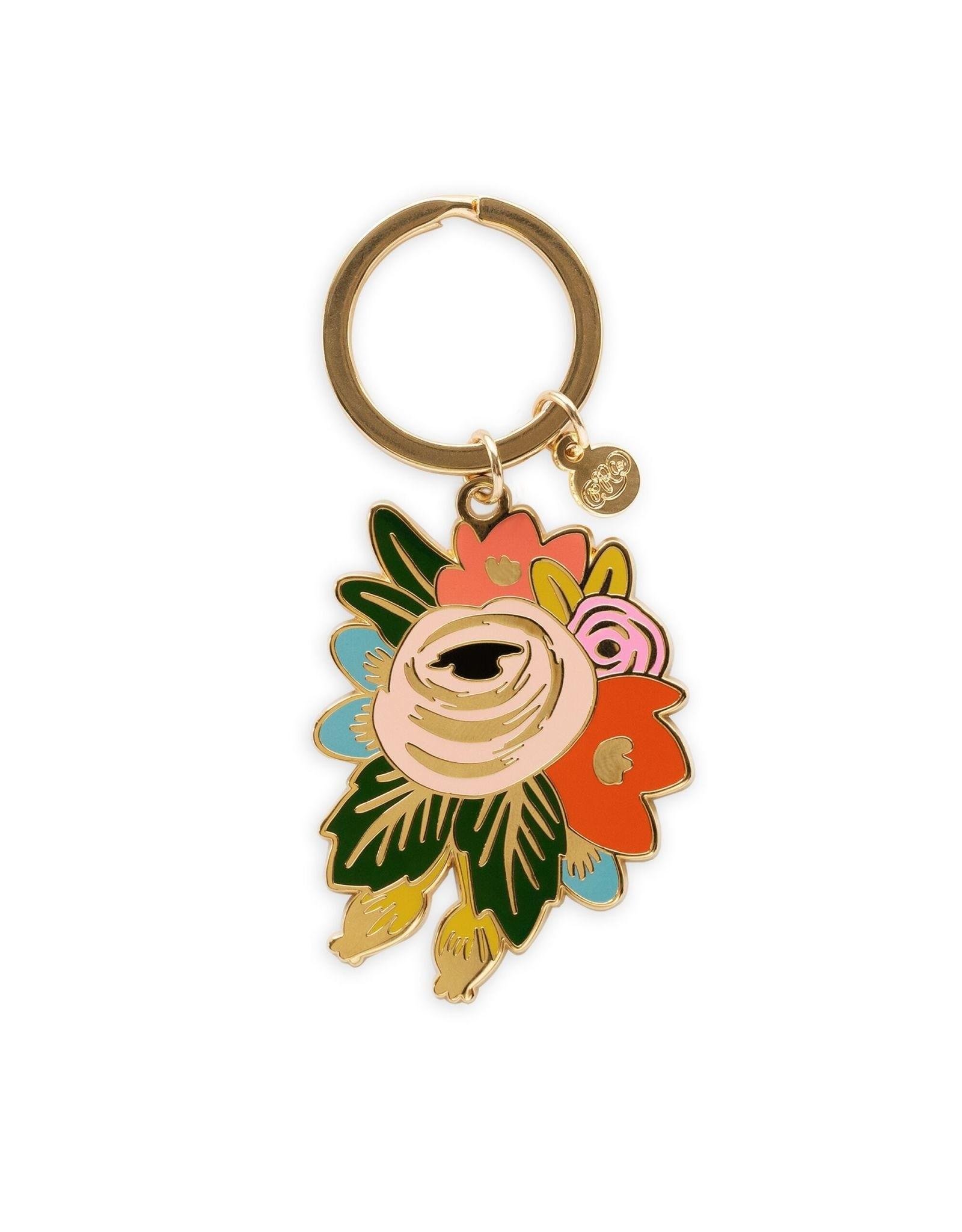 Enamel Keychain - Rosa
