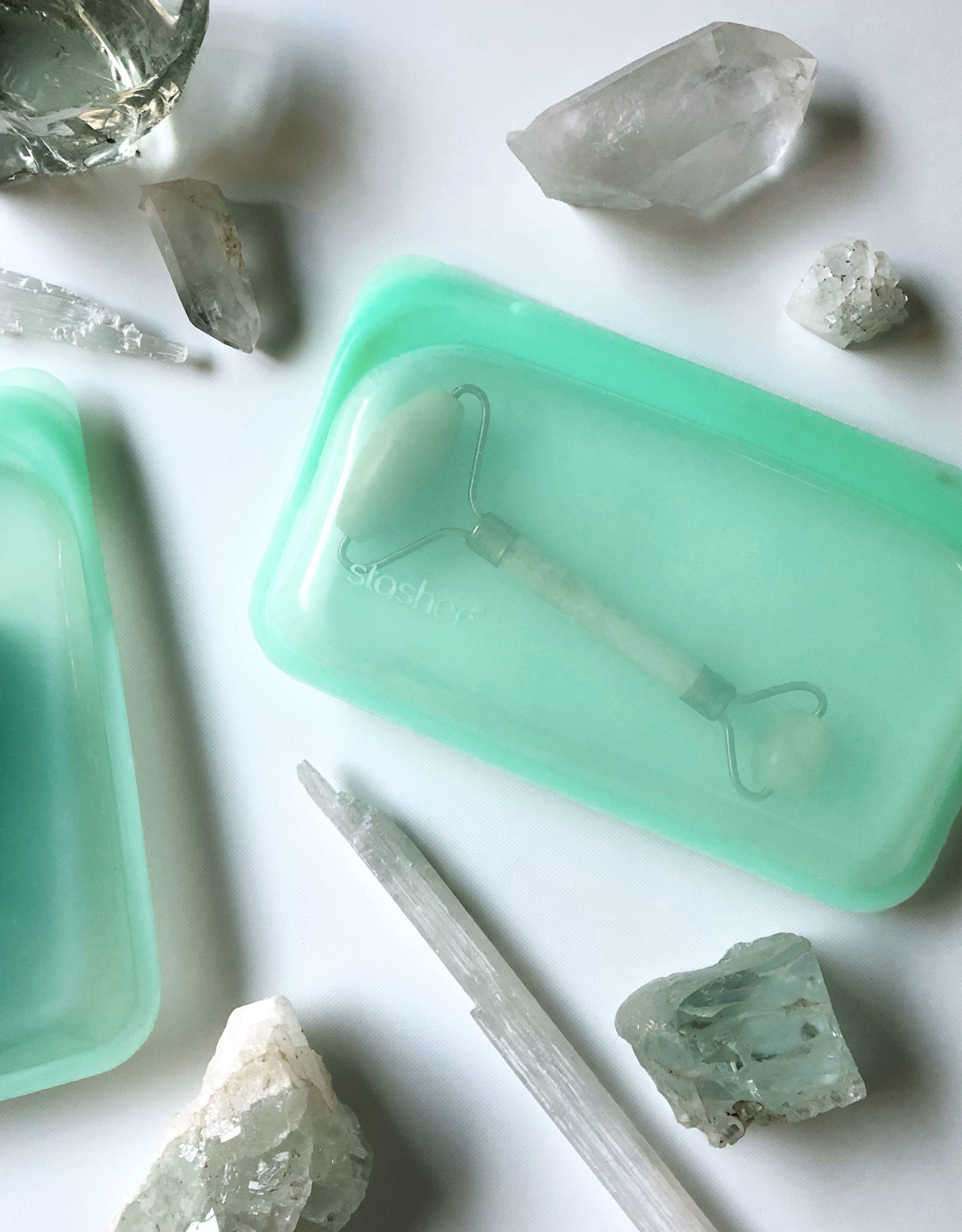 Mint Silicone Snack Bag