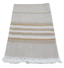 Neutral Stripe Dishtowel