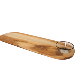 Long Teakwood Board with Cutout