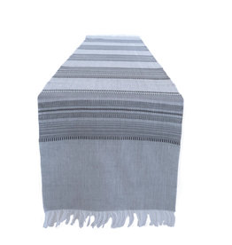 Slate with Black and Grey Table Runner