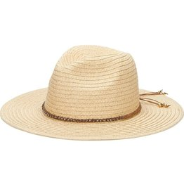 SAN DIEGO HAT Panama Fedora with Braided Band