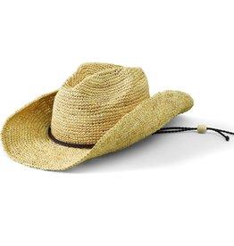 SAN DIEGO HAT Crocheted Raffia Cowboy Hat