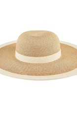 SAN DIEGO HAT Water Repellent Floppy Hat with White Stripe