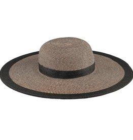 SAN DIEGO HAT Water Repellent Floppy Hat with Black Stripe