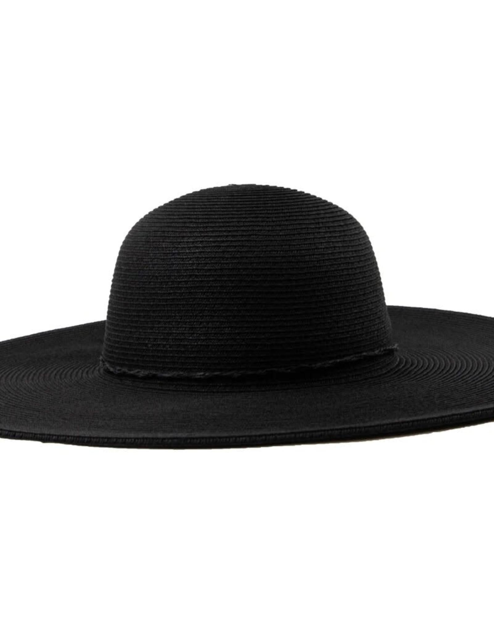 SAN DIEGO HAT Water Repellent Floppy Hat - Black