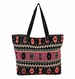 SAN DIEGO HAT Multi-color Jacquard Tote Bag