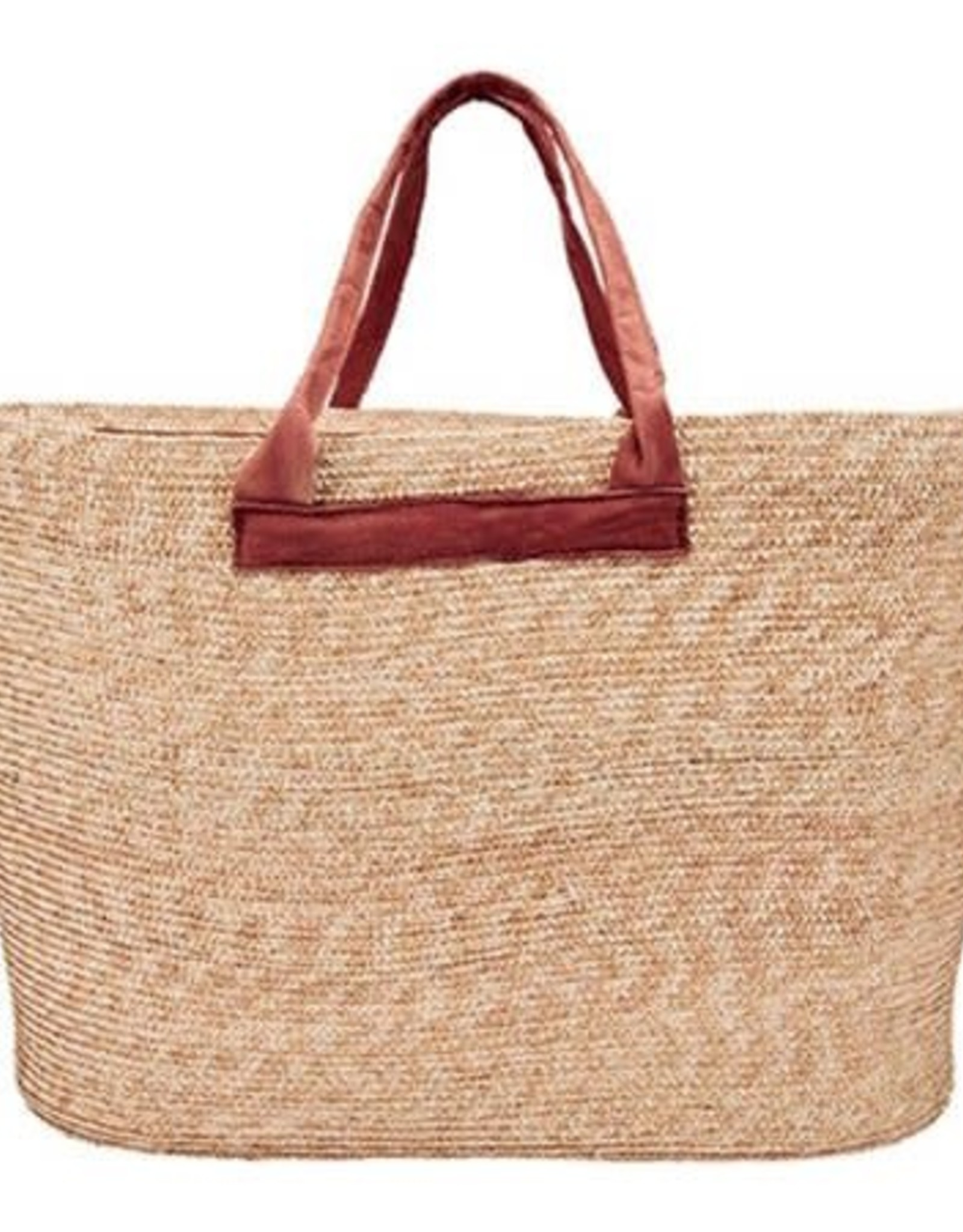 SAN DIEGO HAT Wheat Straw Carry All Tote Bag
