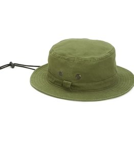 SAN DIEGO HAT Bucket Hat with Chin Cord - Olive