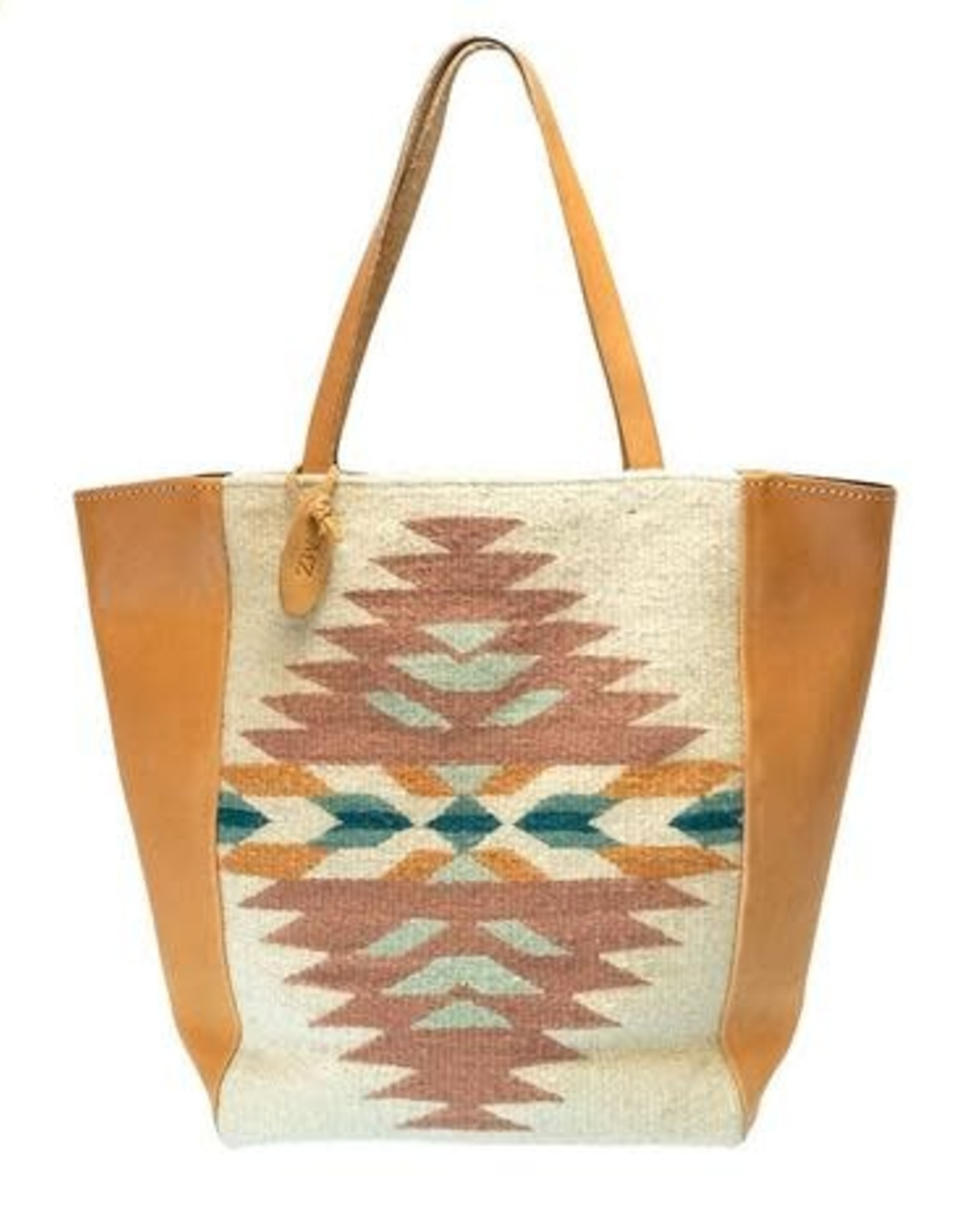 Felted Wool & Leather Antonia Tote