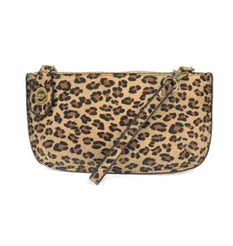 JOY SUSAN Leopard Clutch - Natural