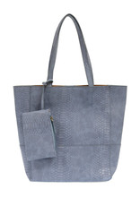 JOY SUSAN Avery Python Tote - Chambray