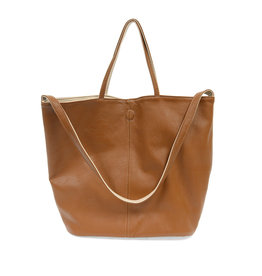 JOY SUSAN Riley Tote - Caramel