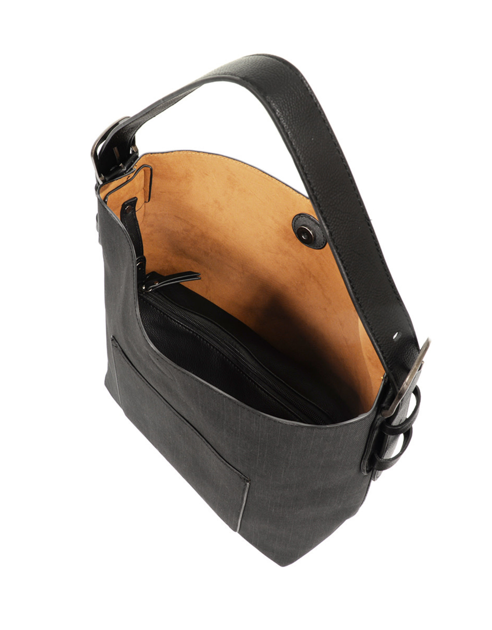 Hobo Handbag - Black