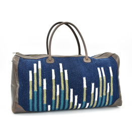 Wool and Leather Longitude Duffel Bag