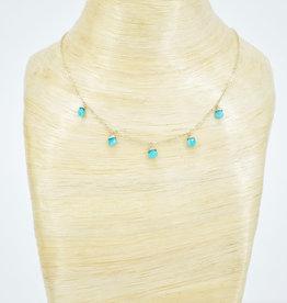 TREE MYRIAH Amazonite Necklace