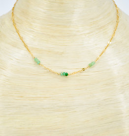 TREE MYRIAH Chrysoprase Necklace