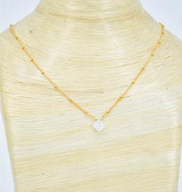 TREE MYRIAH Moonstone Saturn Necklace