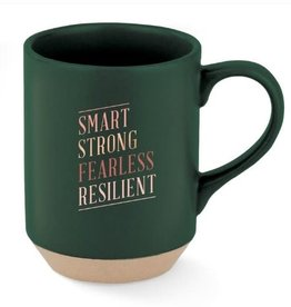 Smart Strong Fearles Resilient Mug