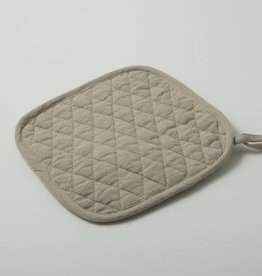 Linen Pot Holder - Natural