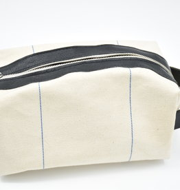 FLEABAGS Canvas & Leather Dopp Kit