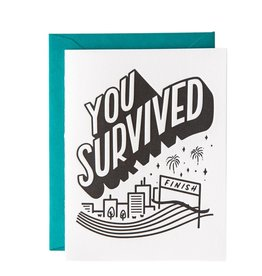 Graduation Card - You Survived