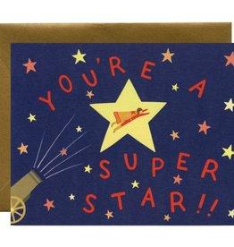 Graduation Card - You're A Super Star