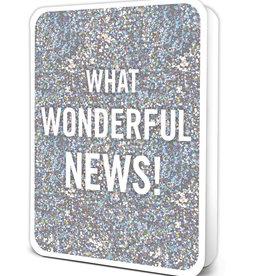 Graduation Card - What Wonderful News!