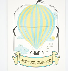 Graduation Card - Great Job, Graduate! - You Are Flying High!