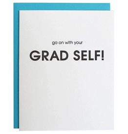 Graduation Card - Go On With Your Grad Self!