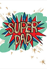 Father's Day Card - Super Dad
