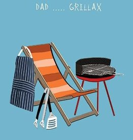 Father's Day Card - Dad ... Grillax