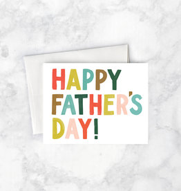 Father's Day Card - Happy Father's Day! - Multi-colored