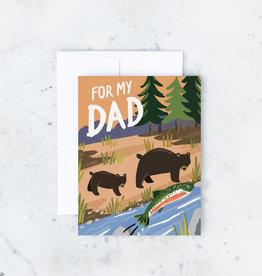 Father's Day Card - For My Dad