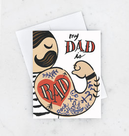 Father's Day Card - My Dad Is Rad