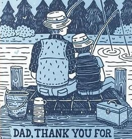 Father's Day Card - Dad, Thank You For Being There For Me