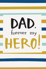 Father's Day Card - Dad, Forever My Hero!