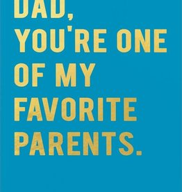 Father's Day Card - Dad, You're One Of My Favorite Parents