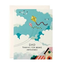 Father's Day Card - Dad Thanks For Being Awesome!