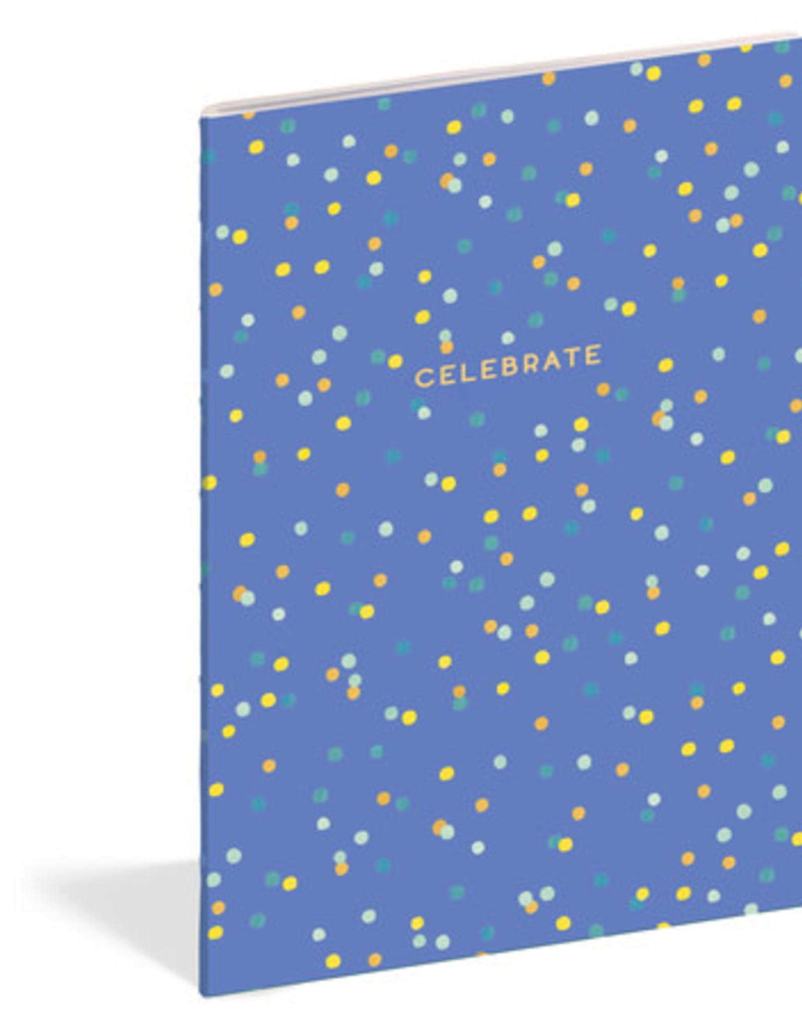 Celebrate Lined Notebook