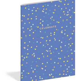 Celebrate Lined Notebook
