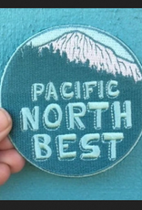 PEN AND PINE Pacific North Best Iron on Patch