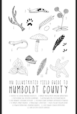 PEN AND PINE Humboldt Field Guide Art Print