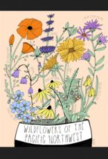 Wildflowers of the Pacific Northwest Art Print