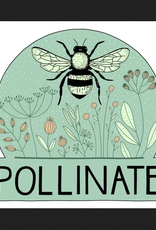 PEN AND PINE Pollinate Vinyl Sticker