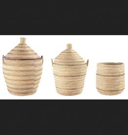 Woven Grass Basket