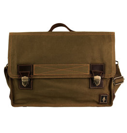 DAMNDOG Work Bag - Brown/Green