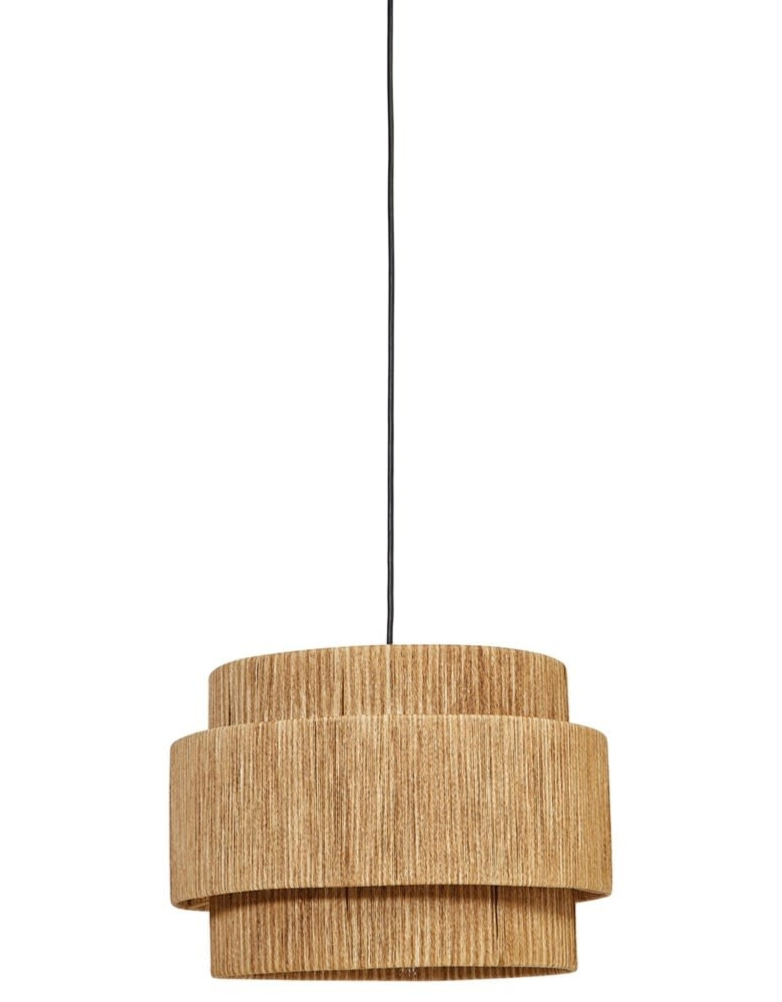 3 Tier Natural Pendant Light
