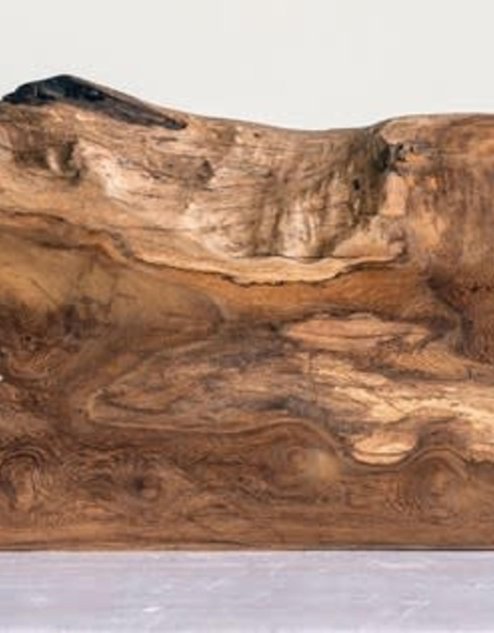 Madre De Cacao Wood Pedestal Tray